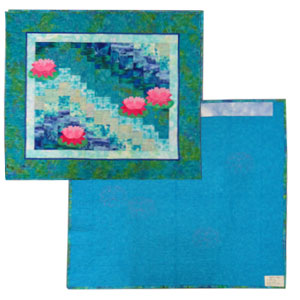 Quick Trip Water Lilly Quilt