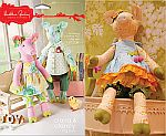 Heather Bailey Sewing Patterns: Claira & Clancy Pig Dolls