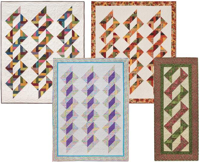 Triple Twist Quilt Eleanor Burns Signature Pattern