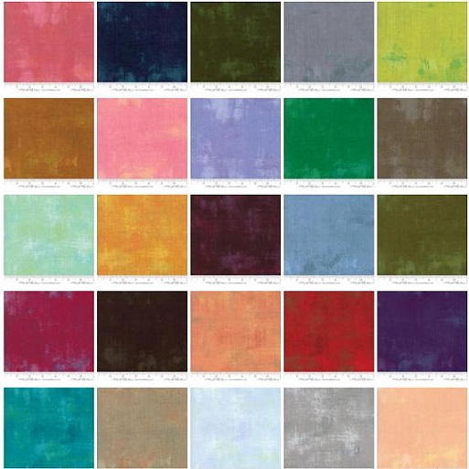 Moda Precuts Grunge New Jelly Roll Archived Products