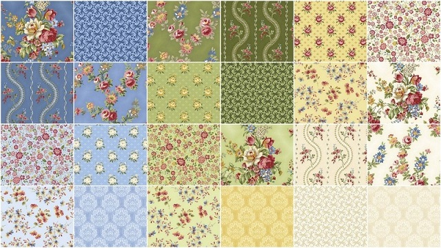 Juliette 5 inch Stackers 42 pcs Penny Rose Fabrics- Quilt in a Day ... : rose quilt fabric - Adamdwight.com