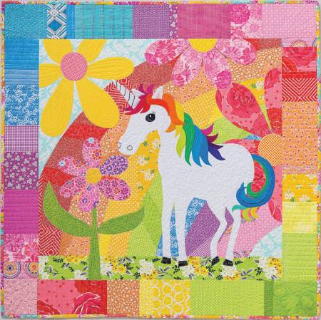 The Magical Unicorn Quilt Pattern By Becky Goldsmith