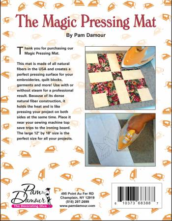 Magic Pressing Mat By Pam Damour The Decorating Diva