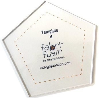 fabriflair template b pentagon by indygo junction 729266581039