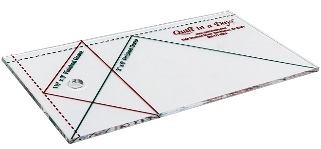 Small Flying Geese Ruler 3 X 6 By Quilt In A Day 735272020066