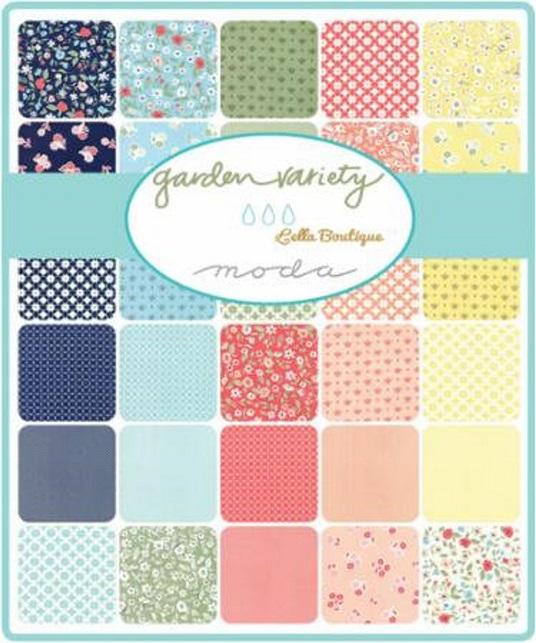 "Garden Variety ~ Moda Jelly Roll ~ 40 2.5/""Cotton Quilting Fabric 5070JR"