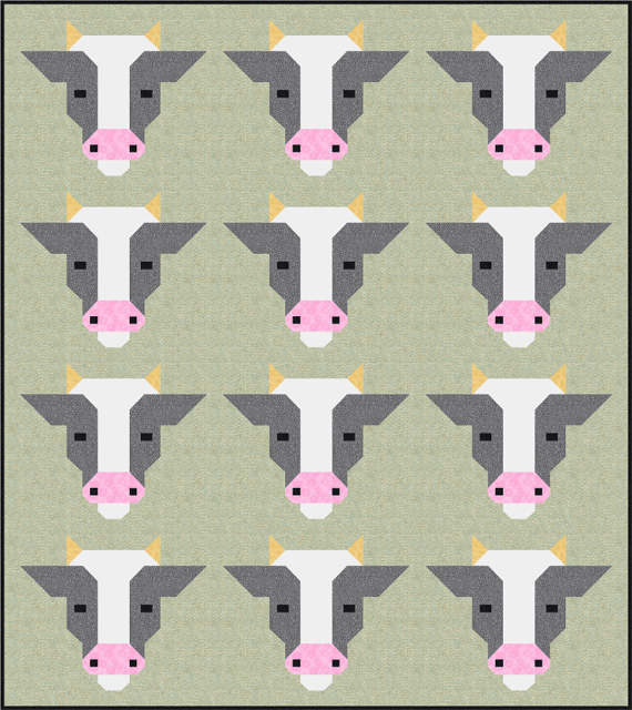 Sew Fresh Quilts Farm Friends Quilt Pattern By Lorna Mcmahon