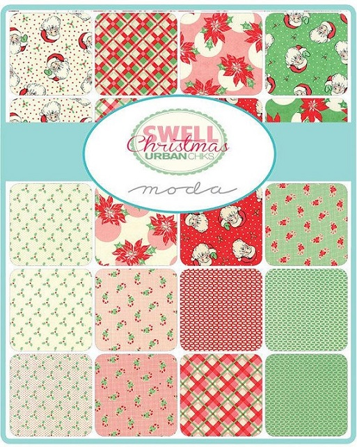 Swell Christmas Jelly Roll By Urban Chiks Moda Precuts Quilt In A