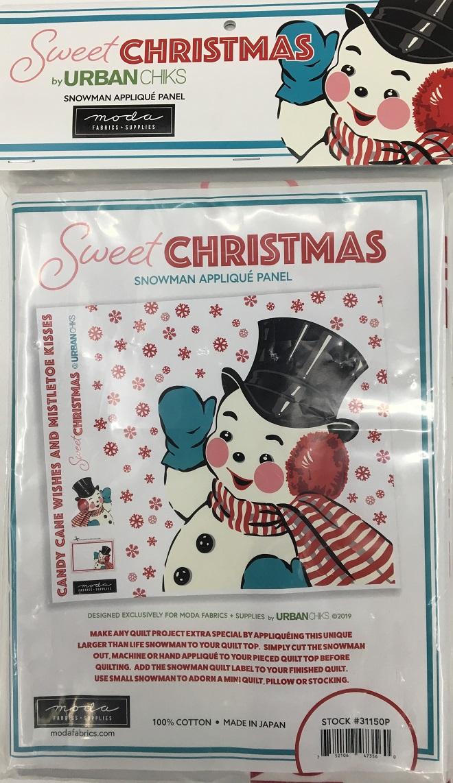 Moda Christmas Fabric 2019.Sweet Christmas Digital Panel By Urban Chiks Moda Panel