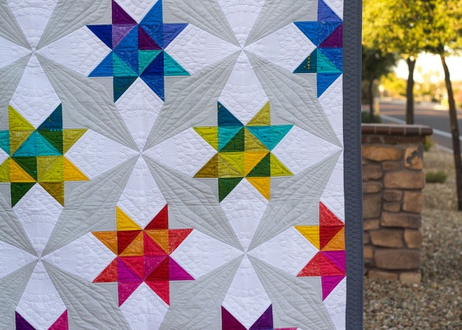 Whirl Quilt Pattern by On Williams Street 850006257010 - Quilt in a Day /  Quilt Patterns
