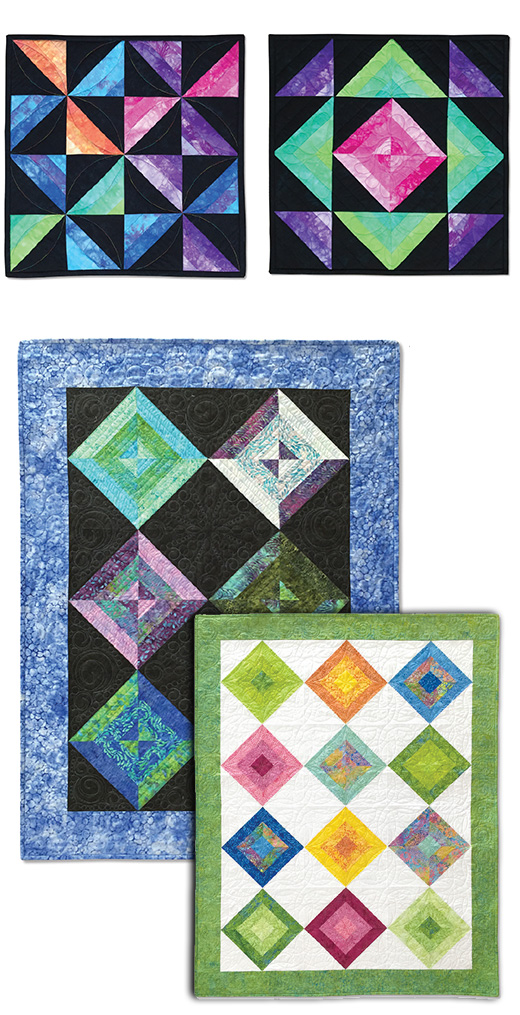 Quilt Patterns To Make In A Day : Eleanor Burns New Amish Quilts: Eleanor Burns Signature Quilt Pattern