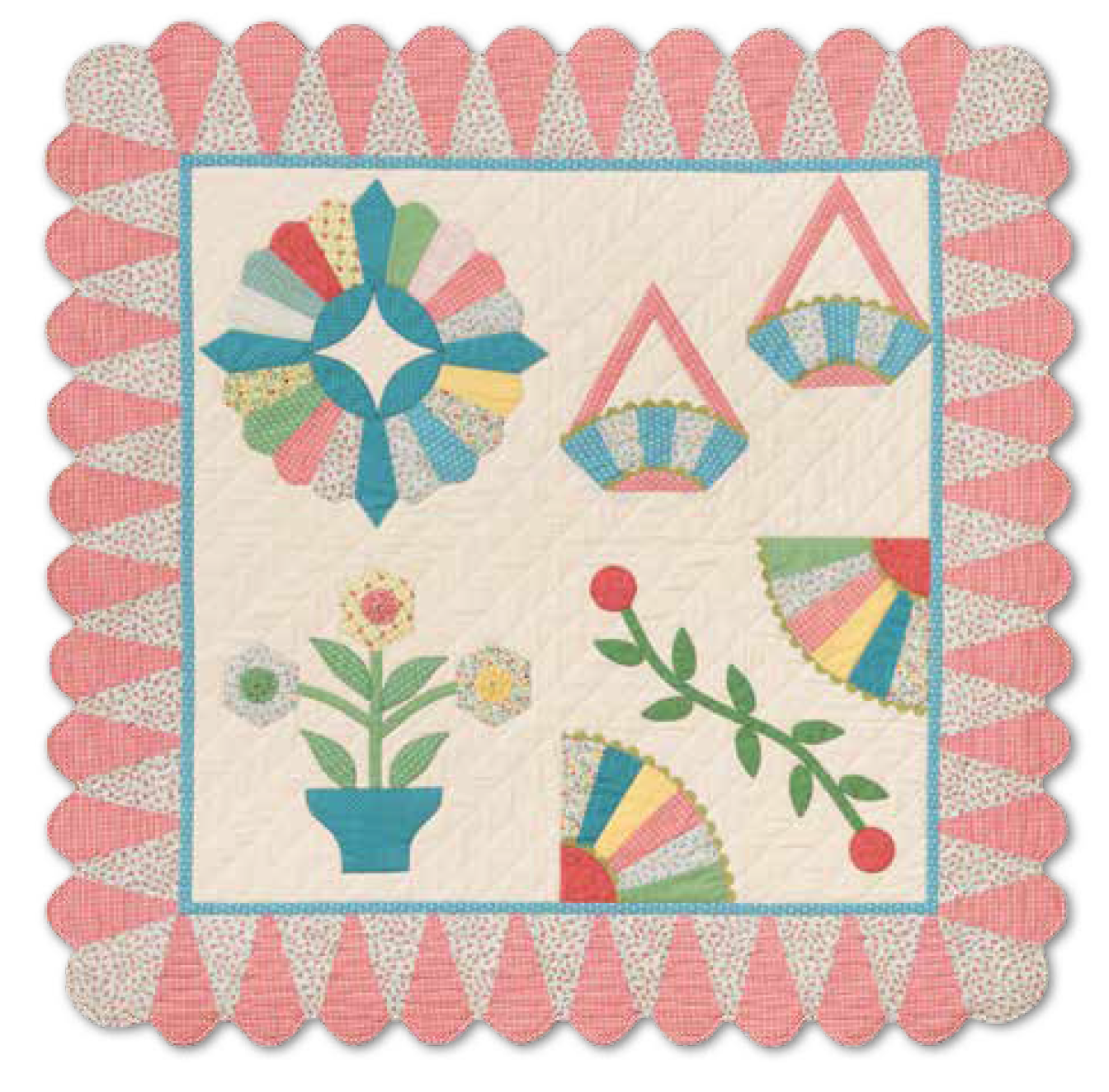 Ice Cream Cone Border Templates 735272040811 Quilt In A Day