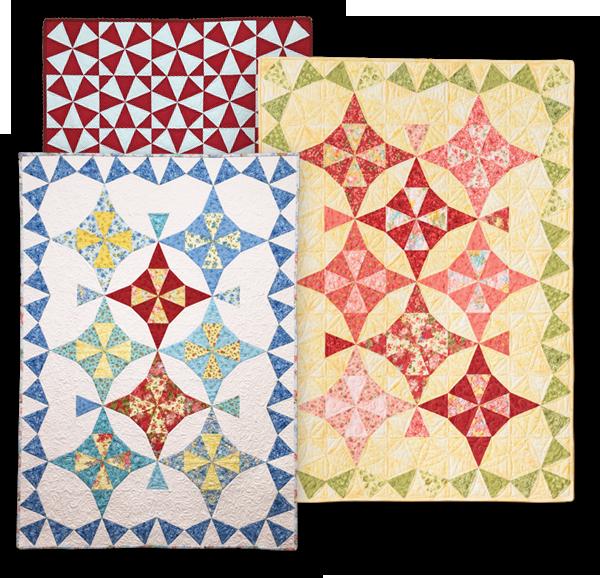 Kaleidoscope 2 Quilt Eleanor Burns Signature Quilt