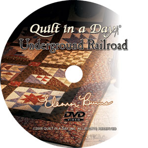 Quilts From The Underground Railroad Dvd 735272422013