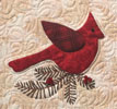 Quilts Through the Seasons: Cardinal for Lodgepole Pine Fusible PKG