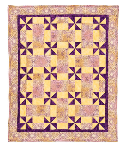 Pinwheels Amp Rectangles Eleanor Burns Signature Quilt