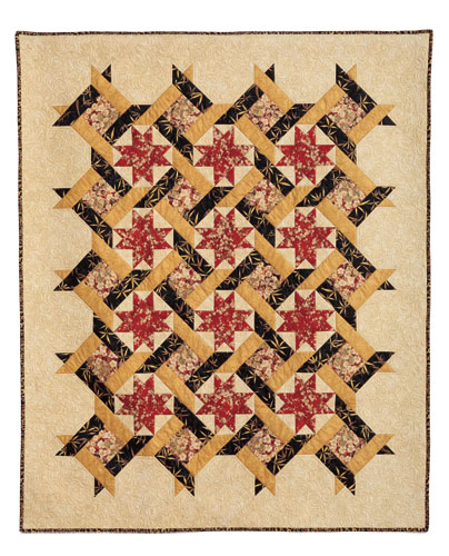 Twisted Star Eleanor Burns Signature Quilt Pattern