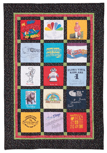 T Shirt Quilt Pattern Book : T-Shirt Quilt: Eleanor Burns Signature Quilt Pattern 735272012566 735272012566 - Quilt in a Day ...