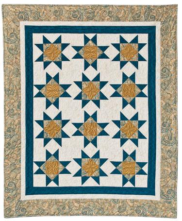 Turnover Twist Eleanor Burns Signature Quilt Pattern