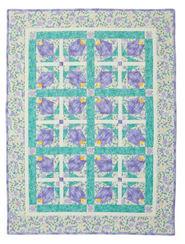 Magnolia Bud Eleanor Burns Signature Pattern 735272012757