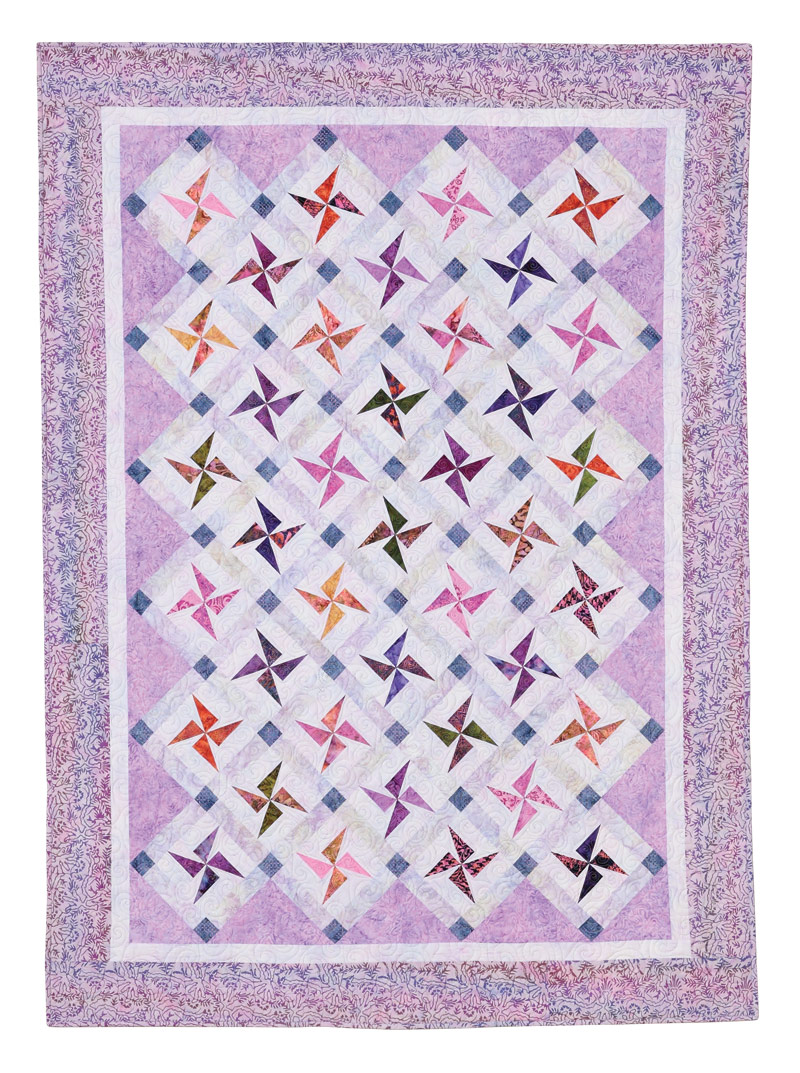 Swirling Stars Eleanor Burns Signature Pattern