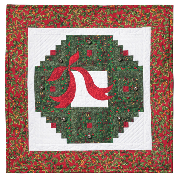 Quilt Patterns To Make In A Day : Holiday Wreath and Tree: Eleanor Burns Signature Pattern 735272012931 735272012931 - Quilt in a ...