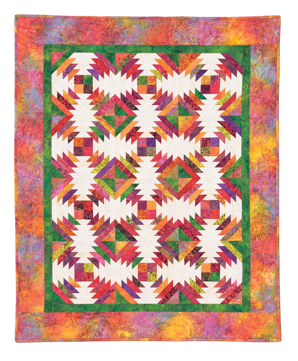 Quilt Patterns To Make In A Day : Pineapple Quilt Pattern by Quilt in a Day, Eleanor Burns, 1294 Intermediate eBay